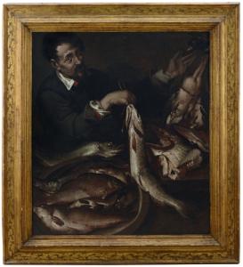Bartolomeo Passerotti - Il venditore di pesce