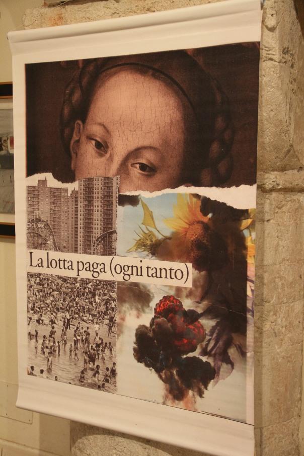 Giorgio Garbi - mostra al broletto con giosu