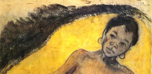 Paul Gauguin Donna Tahitiana 1894  per Il sasso nello stagno di AnGre