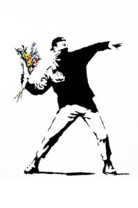 Rage-Flower-Thrower-by-Banksy