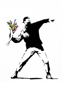 Rage-Flower-Thrower-by-Banksy