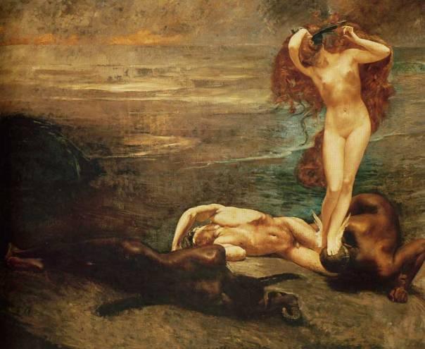 2H-  giulio-aristide-sartorio-la-gorgone-e-gli-eroi-1897-Roma-galleria-naz-di-arte-moderna