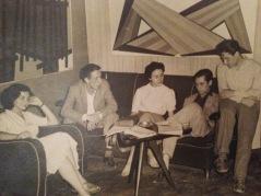 Da destra Alvaro Monnini, Mario Nuti, Gualtiero Nativi