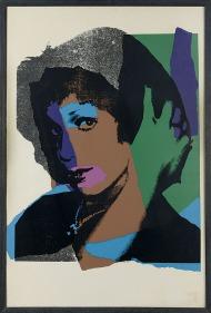 "343 ANDY WARHOL Pittsburg (Usa) 1928 - New York 1987 Ladies & Gentlemen serigrafia su carta cm 110,2x72,3; esemplare 36/125, firma al retro. Bibliografia: -""Andy Warhol prints, Catalogue Raisonnè 1962-1987"", Edizioni Feldman/Schellmann, terza edizione pagina 87, rep. 11.132. base d'asta: 2.000 € stima: 4.000/5.000 €"