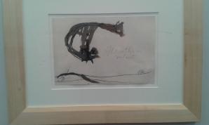 Una guache di Licini. Ad artverona è stata creata una nicchia di puro resporo con opere della Galleria d'arte moderna di Ascoli