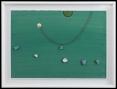 """210 SERGIO DANGELO Milano 1932 Dans mon ile, (1970) tecnica mista e applicazioni su tela 70x100 cm, firma in basso al centro, titolo, firma ed etichetta della Galleria Annunciata (MI) al retro. Bibliografia: -""""Sergio Dangelo, Un messager du ciel"""", a cura di Alain Jouffroy, mostra tenutasi presso la Galleria Annunciata (MI) dal 8 al 27 Maggio 1974, tavola 17. base d'asta: 1.000 €"""