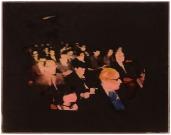 """297 MARIO SCHIFANO Homs (Libia) 1934 - Roma 26/01/1998 Senza titolo, 1990/97 acrilico su PVC preparato al computer 100x140 cm, firma al retro, dichiarazione d'autenticità dell'artista su foto, opera registrata presso la Fondazione Mario Schifano (Roma) in data 04/08/2003 come da dichiarazione su certificato con documentazione fotografica allegato, certificato di Telemarket (Roncadelle-BS) allegato. Bibliografia: -""""Studio metodologico riguardante la catalogazione informatica dei dati relativi alle opere di Mario Schifano presenti presso la Fondazione M.S. Multistudio"""", volume II°, Opere su tela 1983-1990/97, pagina 523, repertorio 90-97/234. base d'asta: 4.000 € stima: 8.000/9.000 €"""