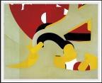 128 RENATA BOERO Genova 21/12/1936 Grigio, azzurro, rosso e giallo, 1959 plastica su tavola 80x100 cm, firma, titolo, anno, tecnica ed etichetta della Galleria Break Associazione Culturale (Roma) al retro. base d'asta: 1.000 € stima: 3.000/4.000 €