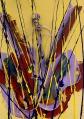 193 ARMAN Nizza 1928 - New York 22/10/2005 Senza titolo, 2003 violino scomposto e tracce di colore su tela applicata su tavola 81x60,5x10,5 cm, firma sul bordo inferiore, dichiarazione d'autenticità dell'artista su certificato per un'opera d'arte di Arman allegato, entro teca in plexiglass. base d'asta: 6.000 € stima: 10.000/12.000 €