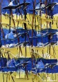 95 ARMAN Nizza 1928 - New York 22/10/2005 Senza titolo, 1998 piccola chitarra scomposta e pittura acrilica su tela applicata su tavola 71x50,5x4,5 cm, firma sul bordo inferiore, dichiarazione d'autenticità dell'artista, timbro ed etichetta dell'Archivio delle Opere di Arman a cura della Galleria Dante Vecchiato (PD) su foto, opera priva di cornice. base d'asta: 5.000 € stima: 9.000/10.000 € codice opera: 012017005384 Miniatura Opera  Immagine Opera Alta Ris Opera 158 ARMAN Nizza 1928 - New York 22/10/2005 Senza titolo, 2003 scarpe scomposte e tracce di colore su tela applicata su tavola 73x50,5x9,5 cm, firma sul bordo inferiore, dichiarazione d'autenticità dell'artista su certificato dell'Arman Studio Archives (New York) con registrazione presso l'Archivio delle opere di Arman a cura della Galleria Dante Vecchiato al retro allegata, certificato di Telemarket (Roncadelle-BS) allegato. base d'asta: 5.000 € stima: 9.000/10.000 €
