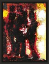 413 GIANNI DESSI` Roma 19/01/1955 Senza titolo, 2009 olio e tecnica mista su cartone telato 40x30 cm, firma e anno al retro, dichiarazione d'autenticità dell'artista su foto. base d'asta: 1.000 € stima: 2.000/3.000 €