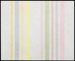 """58 ELIO MARCHEGIANI Siracusa 02/09/1929 Grammature di colore, 1974 pigmenti e intonaco su rame 44x52,5 cm, firma, titolo, anno e numero di registro (52) al retro, dichiarazione d'autenticità dell'artista su foto. Bibliografia: -""""Elio Marchegiani, la verifica certa"""" a cura di Marco Meneguzzo, Galleria Giraldi, 12 aprile 14 maggio 2008, pagina 36. base d'asta: 4.000 € stima: 9.000/10.000 €"""