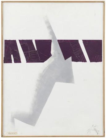 9 ENRICO DE TOMI [Venezia 1912 - Roma 1983] Progetto n° 34 tecnica mista su tavola 63x48 cm, firma in basso a destra. senza riserva stima: 1.000/2.000 €