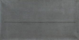 68 WINFRED GAUL [ 1928 - 2003] Markierungen 68, 1974 tecnica mista su tela 50x100x4 cm, firma, titolo, anno, dedica dell'artista ad personam e timbro della Galleria Sincron (BS) al retro, opera priva di cornice. base d'asta: 4.000 € stima: 8.000/9.000 €