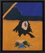 83-EDUARDO ARROYO [Madrid 1937]Arcole, 1966olio su tela 100x80 cm, firma e anno in basso al centro, titolo, firma, anno ed etichetta della Galleria La Sanseverina al retro, certificato Christie's allegato.base d'asta: 22.000 €stima: 39.000/44.000 €