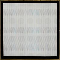 15- CARLO NANGERONI [New York (U.S.A.) 24/06/1922 - 13/03/2018] Senza titolo (1981) acrilico su tela 60x60 cm, firma ed etichetta della galleria Pantha Arte (Como) al retro, dichiarazione d'autenticità dell'artista su foto. base d'asta: 1.500 € stima: 3.000/4.000 €