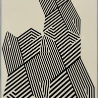 86- FRANCO GRIGNANI [Pieve Porto Morone (PV) 04/02/1908 - Milano 1999] Psicostruttura, 1974 acrilico su cartoncino Schoeller 73x51 cm, firma e anno al retro, dichiarazione d'autenticità della figlia Manuela ed etichette della Galleria Spazia (BO)su foto. base d'asta: 5.000 € stima: 9.000/10.000 €